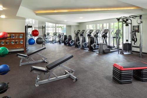 The fitness center and/or fitness facilities at Moana Surfrider, A Westin Resort & Spa, Waikiki Beach