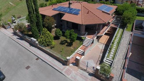 Villa San Nicola B&B с высоты птичьего полета