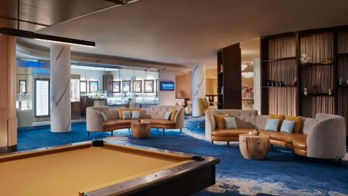 A pool table at The Ritz-Carlton, Fort Lauderdale