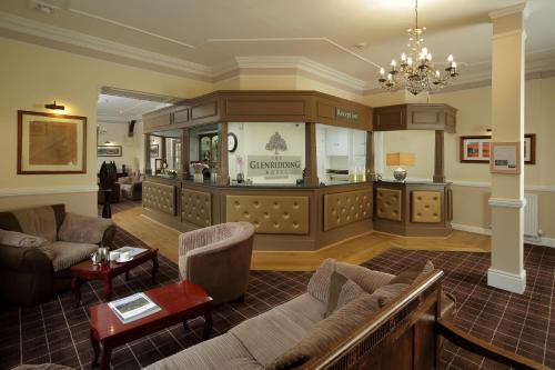 A seating area at Glenridding Hotel