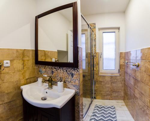 A bathroom at Guesthouse SaM