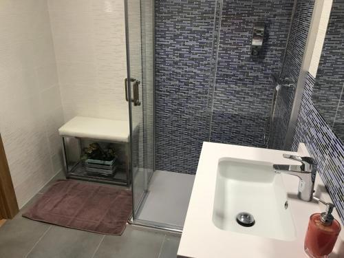 Un baño de Pension Berceo