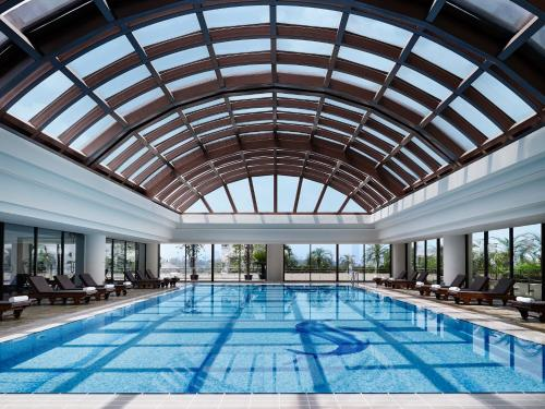 The swimming pool at or near Pan Pacific Hanoi