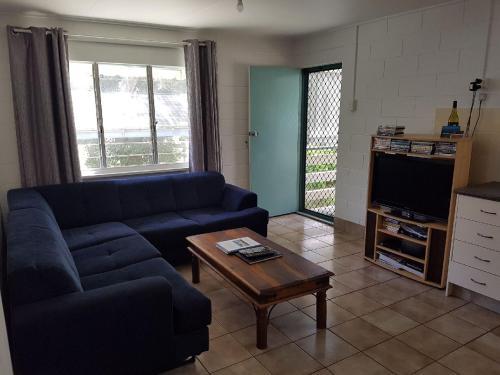 A seating area at Apurla Island Retreat