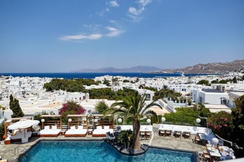 A view of the pool at Belvedere Mykonos - Main Hotel or nearby