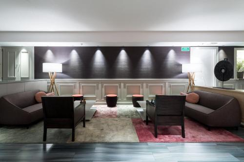 The lobby or reception area at Catalonia Square 4* Sup