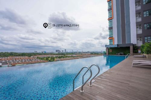 The swimming pool at or close to Austin IKEA-AEON-Toppen by UHA