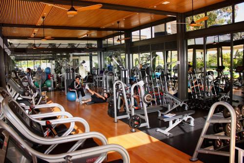 Het fitnesscentrum en/of fitnessfaciliteiten van Vineyard Hotel