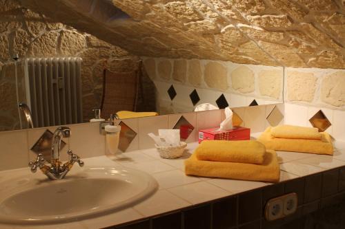 Ein Badezimmer in der Unterkunft Hotel Villa Vital Munster