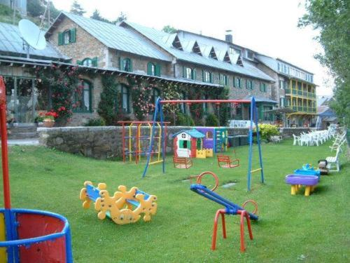 Children's play area at Hotel Adsera