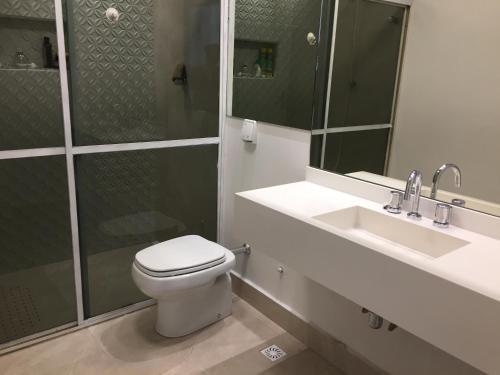 Um banheiro em Ilha Porchat