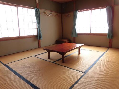 A seating area at Morishigesou