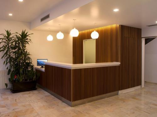 The lobby or reception area at Hotel Miramar - São Pedro de Moel