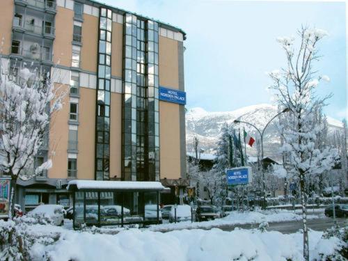 Hotel Norden Palace en invierno