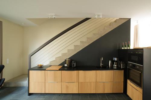 A kitchen or kitchenette at An der Mauer 15