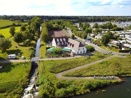 Hotel De Spaenjerd с высоты птичьего полета