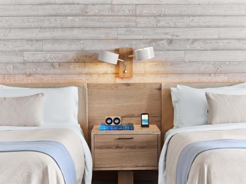 A bathroom at 1 Hotel South Beach
