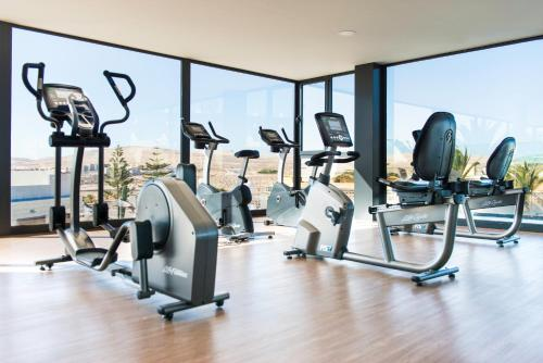 The fitness center and/or fitness facilities at Kn Hotel Matas Blancas - Solo Adultos