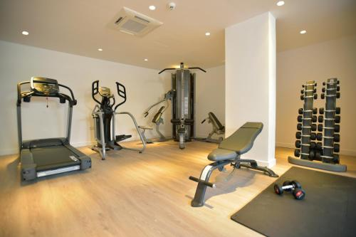 The fitness center and/or fitness facilities at Sunrise Gardens Aparthotel