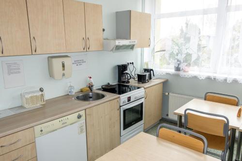 Köök või kööginurk majutusasutuses Guesthouse Rehab