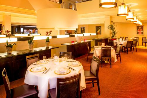 A restaurant or other place to eat at Millennium Hotel London Knightsbridge