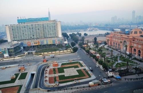 منظر Cleopatra Hotel من الأعلى