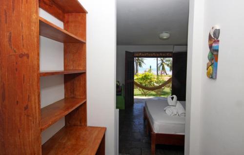 A bathroom at Bitingui Praia Hotel