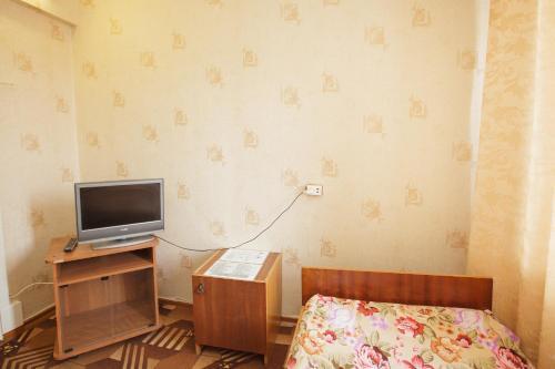 Телевизор и/или развлекательный центр в Apartment TwoPillows on Lenina 52-5