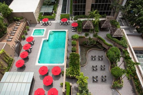 A view of the pool at Carlton Hotel Singapore (SG Clean) or nearby