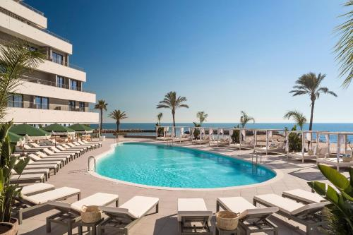 The swimming pool at or near ME Sitges Terramar