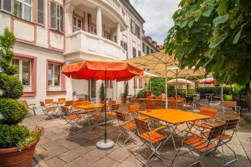 Ein Restaurant oder anderes Speiselokal in der Unterkunft Hotel Bürger Palais