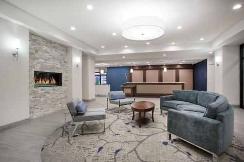 A seating area at Homewood Suites By Hilton Las Vegas City Center