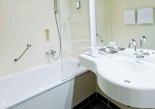 Ein Badezimmer in der Unterkunft ARCOTEL Onyx Hamburg