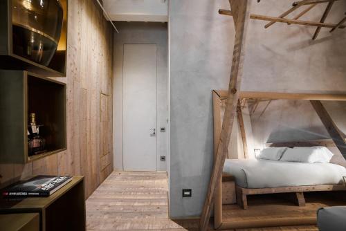 Letto o letti in una camera di Benci House