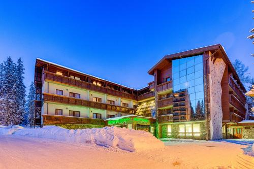 Wellness Hotel Borovica during the winter