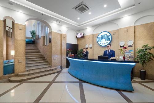 Hall ou réception de l'établissement Arcadia Hotel Budapest