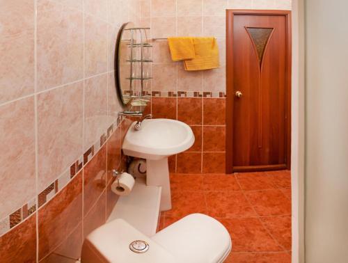 Ванная комната в Гостиница Ямская