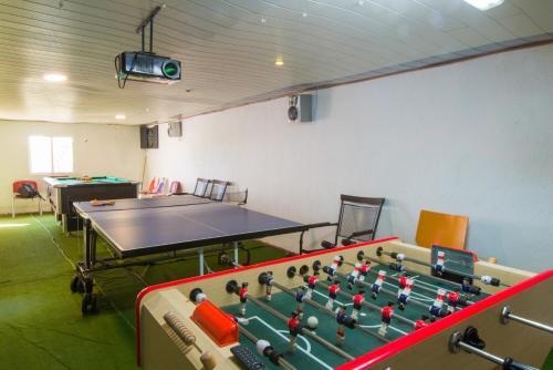 Instalaciones para jugar al ping pong en Casa Can Vila Las Marquesas o alrededores