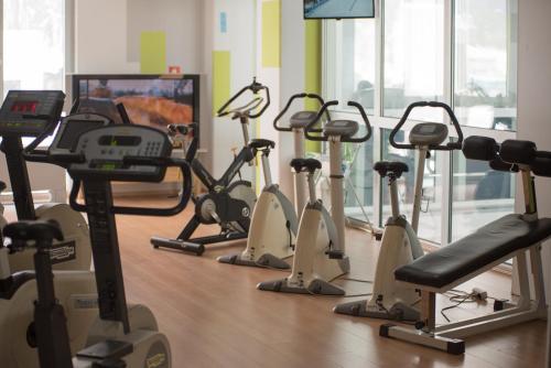Fitnes oz. oprema za telovadbo v nastanitvi Motel Grc Zapolje