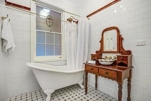 A bathroom at Newcastle Executive Homes - Oceanview Terrace