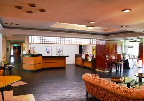 The lobby or reception area at Kinugawa Park Hotels