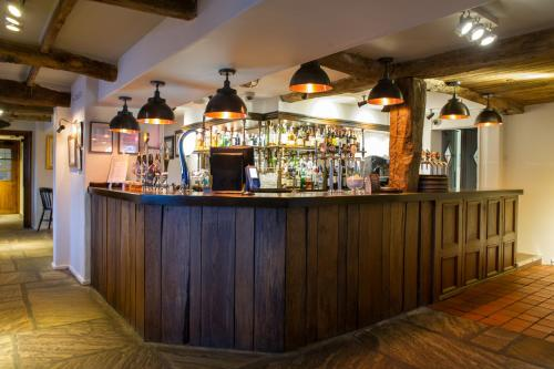 The lounge or bar area at Innkeeper's Lodge Loch Lomond