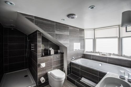 A bathroom at The Chester Hotel