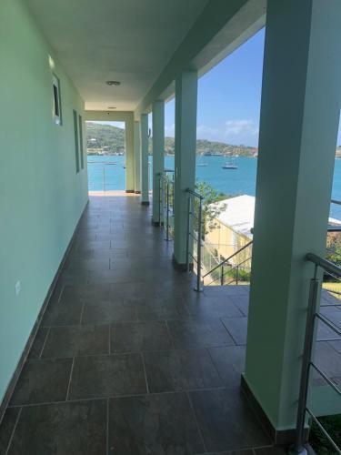 A balcony or terrace at Villa Ensenada Honda