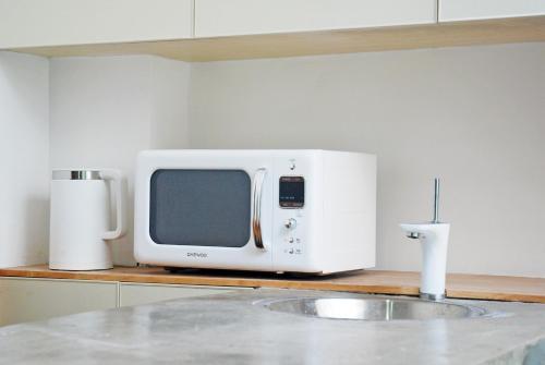 A kitchen or kitchenette at T.G studio