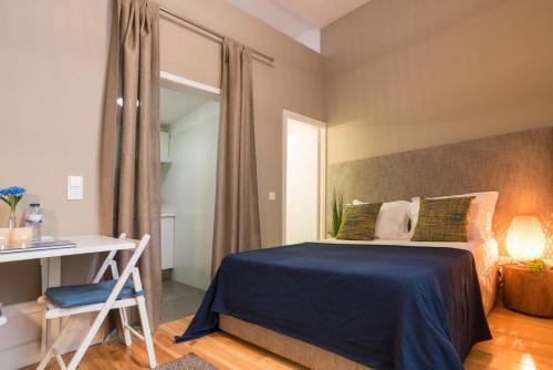 Letto o letti in una camera di bnapartments Rio