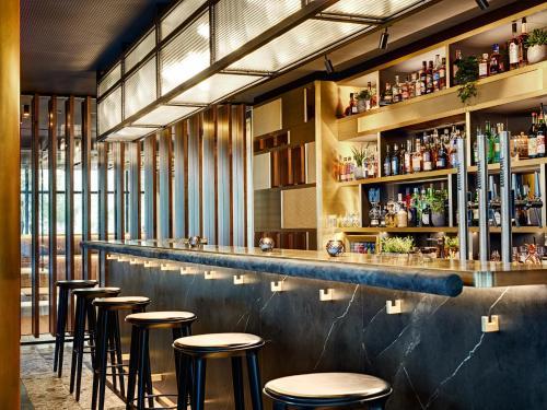 Lounge oder Bar in der Unterkunft STAGE 12 Hotel by Penz