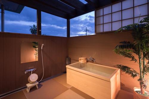치쿠고가와 온센 기요노야 욕실