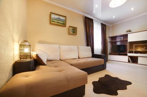 Гостиная зона в Дом для отпуска Вилла Ефимия