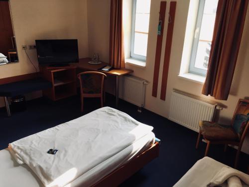 TV/Unterhaltungsangebot in der Unterkunft B&S Hotel Am Bachhaus